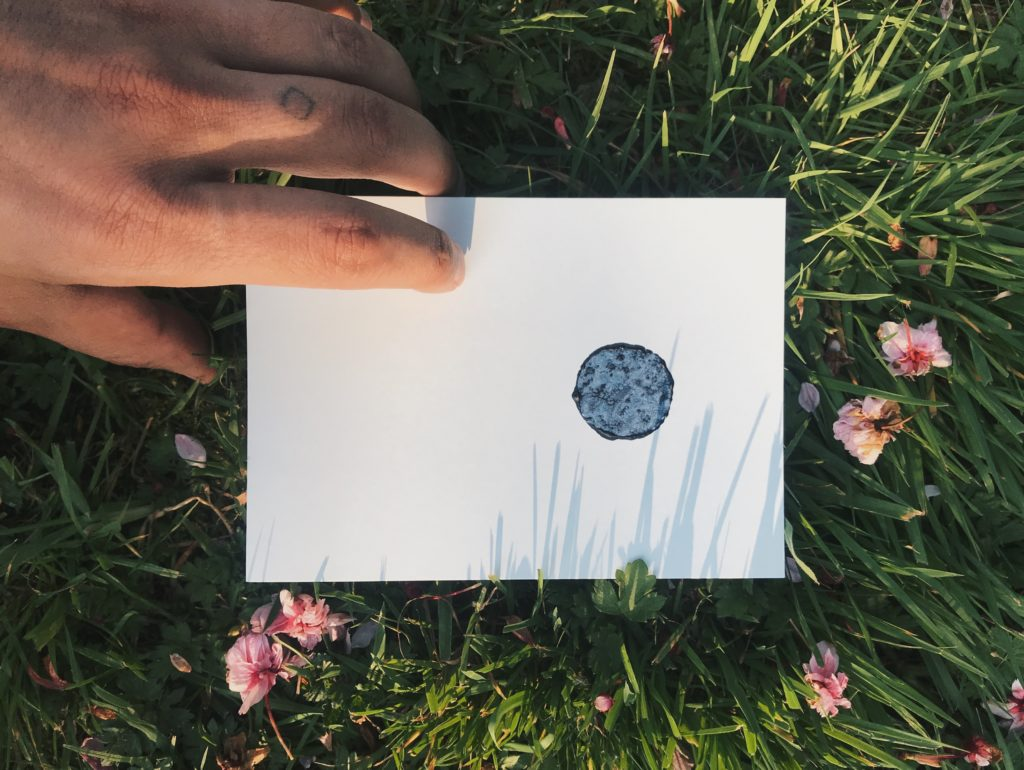 Gravure de la lune